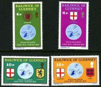 GUERNSEY 1975 CHRISTMAS SET OF ALL 4 COMMEMORATIVE STAMPS MNH (l)