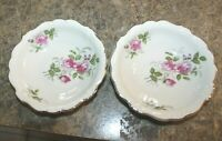"""Rosenthal China - Continental COURTSHIP berry bowl 5-1/8"""" wide lot of 2"""