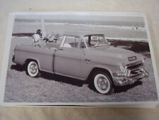 1956 GMC PICKUP  LOADED   11 X 17  PHOTO  PICTURE