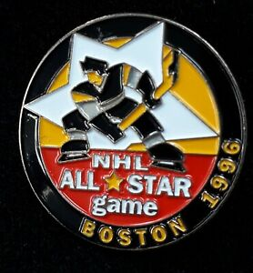 1996 Boston NHL All Star Game Logo Ice Hockey Pin Badge