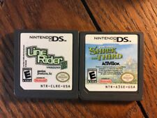 Shrek + Line Rider 2 (Nintendo DS Game Lot) Children - Guaranteed
