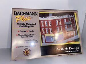 Bachmann Plus N Scale S&S Drugs #35154 NIB Sealed