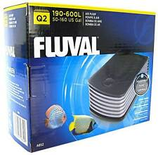 Fluval Q2 Aquarium Pompe à air Puissant Bruit réprimer chicane chambre Fish Tank