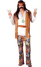 Ladies 60s 70s Woodstock Hippie Hippy Festival Fancy Dress Costume Extra Large