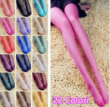Collant Calze Colorate 15D Stocking Multi Colore Sexy 22 Colori Color Pantyhose