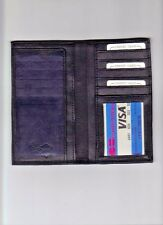Leather Checkbook Cover. With Many Compartments For Credit And Business Cards.