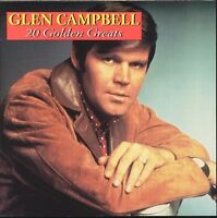 GLEN CAMPBELL 20 Golden Greats CD BRAND NEW