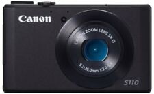 Used Canon Digital Camera Powershot S110 12.1 Million Pixels F2.0 5X Optical