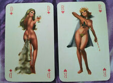 PLAYING CARDS pin-up France reprint + 1 jokers rare