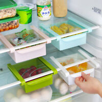 Home storage fridge rack shelf organizer drawer partition kitchen utensils box^P