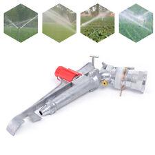 2.6� Irrigation Spray Gun Impact Sprinkler Gun Large 360° Adjustable for Farms