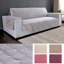 Waterproof Plush Slipcover Sofa Cover Chair Couch Protector Pet Kid Mat Non-slip