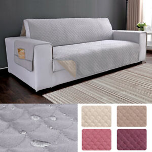 Velvet Plush Brown Loveseat Cover and Wider Sofa Cover Bundle