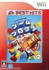 Used Wii Boom Blox Best Version  JAPAN JP JAPANESE JAPONAIS IMPORT