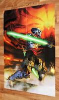 1999 Namco Tekken Tag Tournament Rare Poster 82x57cm Playstation PS2 PS 2