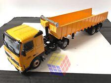 Camión Truck Camions Volvo FH12 + Remorque Volquette / Dumper 1/43 IXO - Altaya