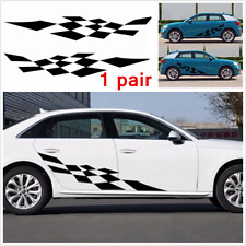 Personalized Sports Graphic Vinyl Side Decal Custom Car Body Waterproof Sticker