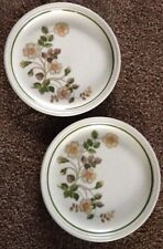 2 X Tea Plates Autumn Leaves M&S