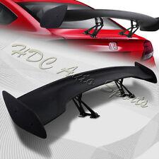 "Universal 57"" TYPE-3 Primer Black ABS GT Trunk Adjustable Bracket Spoiler Wing"
