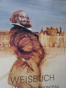 Weisbuch -Affiche- expo- Chateau de Chenonceau- 1988-poster