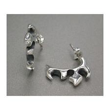 Stylish Punker Studs Earrings - Sterling Silver .925 Punk!