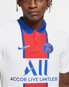 $165 Paris Saint-Germain 2020/21 Vapor Match Away Men Soccer Jersey CD4188