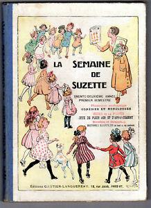 Album Semaine de Suzette 1936 1er semestre Bécassine Pinchon Nézière Iessel