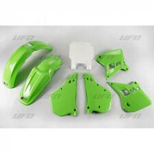 kit plastiche carene Ufo Plast Kawasaki Kx 125 1990 - 1991 verde KA KIT196 999