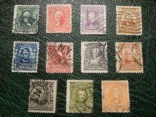 1902 - USA - Präsidenten und berühmte Persönlichkeiten Serie / Briefmarken