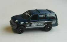Matchbox Ford Expedition dunkelblau POLICE K-9 Unit SUV MBX Mattel Polizei blue