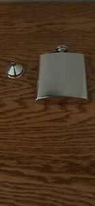 "Things Remembered.... 7oz. Stainless Steel Flask...Never Used.....Engraved ""PJS"""
