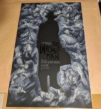 Variant - The Invisible Man by Jonathan Burton Mondo Print Poster
