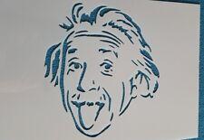 818 Schablone EinsteinVintage Stanzschablone Shabby Wandtattoo Wandbild Stencil