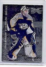 TOMAS VOKOUN 2002-03 ITG X SIGNATURE SILVER CERTIFIED AUTOGRAPH ~ HIGH NUMBER