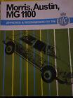 AUSTIN MORRIS MG 1100 WORKSHOP MANUAL RAC PEARSONS TRAVELLER COUNTRYMAN SUPER