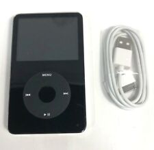 Very Good Used Black Apple iPod Classic 5th Generation 30GB A1136 MP3 Player