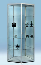 Glasvitrine, Für Sammler, für Museen, Showcase  800x600x1900 F-5 Pent