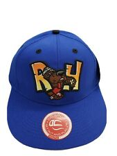 Midland Rockhounds Minor League Baseball Blue Strapback Hat Cap - New