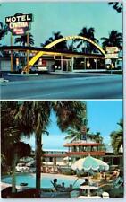 FORT LAUDERDALE, Florida  FL   Roadside  CYNTHIA MANOR MOTEL ca 1960s Postcard