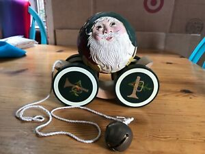 Signed limited Santa 2 Briere toy with bell