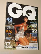 NAOMI CAMBELL COVER MAGAZINE=GQ ITALIA ITALY 2003 SEPTEMBER SETTEMBRE RIVISTA=
