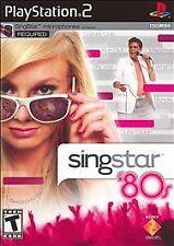 Singstar 80'S - PS2, BRAND NEW