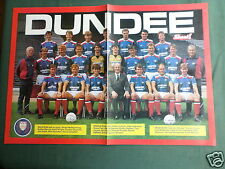 DUNDEE UNITED TEAM  - CENTREFOLD PICTURE  - MAGAZINE CLIPPING /CUTTING -#2