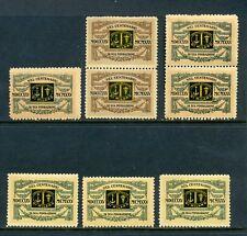 8 VINTAGE 1925 ITALY NEL CENTENARIO DI SUA FONDAZIONE POSTER STAMPS (L675)