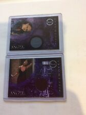 Angel Charisma Carpenter Season 3 AND Season 4 Pieceworks PW2 Inkworks cards