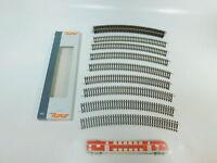 BN885-0,5# 12x Roco H0/DC 42425 Gleis/Gleisstück gebogen R5/R 5, NEUW+OVP