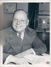 1941 US Congressman Carl T Curtis of Nebraska Press Photo