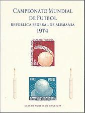 Chile 1974 - Sports World Cup Soccer Championships Munich 74 S/S - Sc 448a MNH