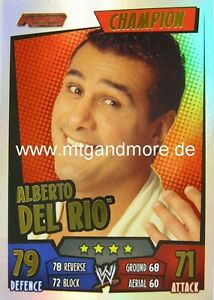 Slam Attax Rumble - Alberto Del Rio - Champion
