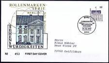 BRD 1997: Berlín! SWK-fdc nº 1935 con bonner sello especial ha ido!! 1a! 1510